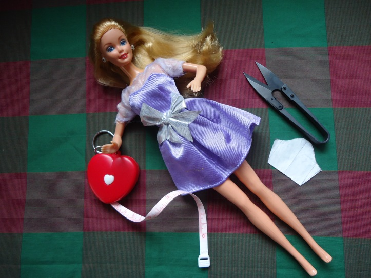 Magic Moves Barbie as my model.