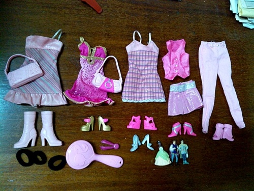 Barbie's Fashion and Accessories